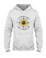 And I Think To Myself D0590 Hooded Sweatshirt tile