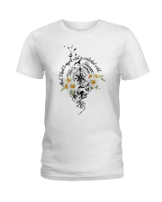 And I Think To Myself D0992 Ladies T-Shirt thumbnail