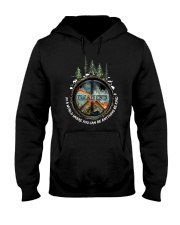 In A World Where You Can Be Anything Be Kind  Hooded Sweatshirt front