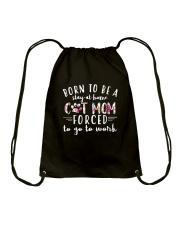 Cat Mom CA0016 Drawstring Bag thumbnail