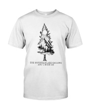 The Mountains Are Calling Classic T-Shirt tile