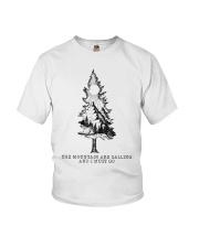 The Mountains Are Calling Youth T-Shirt tile