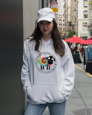 I'm Not The Black Sheep Hooded Sweatshirt lifestyle-unisex-hoodie-front-5