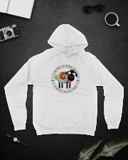 I'm Not The Black Sheep Hooded Sweatshirt lifestyle-unisex-hoodie-front-9