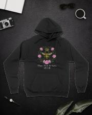 Whisper Words Of Wisdom D0584 Hooded Sweatshirt lifestyle-unisex-hoodie-front-9
