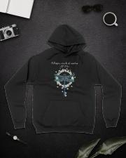 Whisper Words Of Wisdom D0682 Hooded Sweatshirt lifestyle-unisex-hoodie-front-9