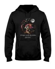 Whisper Words Of Wisdom D0884 Hooded Sweatshirt front