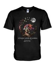 Whisper Words Of Wisdom D0884 V-Neck T-Shirt thumbnail