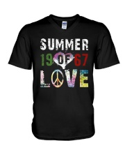 Summer Of Love 1967 A0169 V-Neck T-Shirt thumbnail