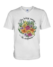 You Belong Among The Wildflowers D0631 V-Neck T-Shirt thumbnail