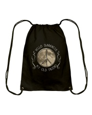 HellO Darkness My Old Friend D01303 Drawstring Bag thumbnail