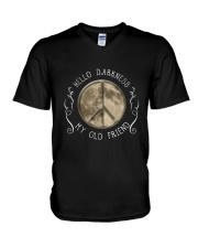 HellO Darkness My Old Friend D01303 V-Neck T-Shirt thumbnail