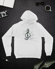 Oh My My Oh Hell Yes A0065 Hooded Sweatshirt lifestyle-unisex-hoodie-front-9