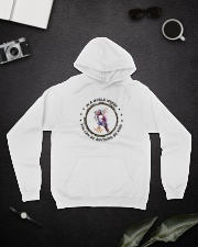 In A World Where You Can Be D0907 Hooded Sweatshirt lifestyle-unisex-hoodie-front-9
