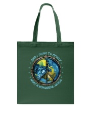 And I Think To Myself D0963 Tote Bag thumbnail