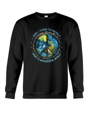 And I Think To Myself D0963 Crewneck Sweatshirt thumbnail