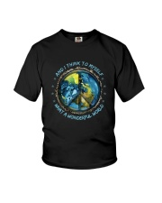 And I Think To Myself D0963 Youth T-Shirt thumbnail