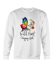 Wild Heart Gypsy Soul D01132 Crewneck Sweatshirt thumbnail
