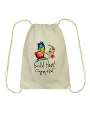 Wild Heart Gypsy Soul D01132 Drawstring Bag thumbnail