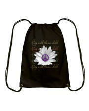 Stay Wild Flower Child D01317 Drawstring Bag thumbnail