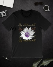 Stay Wild Flower Child D01317 Classic T-Shirt lifestyle-mens-crewneck-front-16