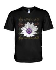 Stay Wild Flower Child D01317 V-Neck T-Shirt thumbnail