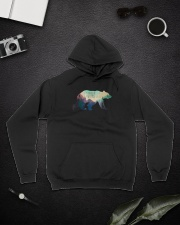 The Mountains Are Calling And I Must Go A0177 Hooded Sweatshirt lifestyle-unisex-hoodie-front-9