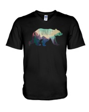 The Mountains Are Calling And I Must Go A0177 V-Neck T-Shirt tile