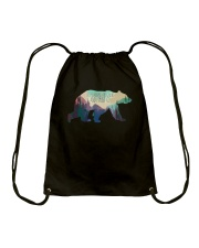 The Mountains Are Calling And I Must Go A0177 Drawstring Bag thumbnail