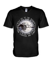 Fly Me To The Moon D01325 V-Neck T-Shirt thumbnail