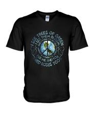 I See Trees Of Green D01217 V-Neck T-Shirt thumbnail