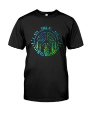 Take Me To The Mountains D01009 Classic T-Shirt front