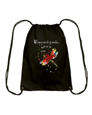 Whisper Words Of Wisdom D0473 Drawstring Bag thumbnail