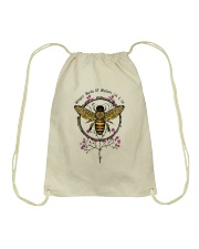 Whisper Words Of Wisdom D0772 Drawstring Bag thumbnail