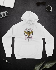 Whisper Words Of Wisdom D0772 Hooded Sweatshirt lifestyle-unisex-hoodie-front-9