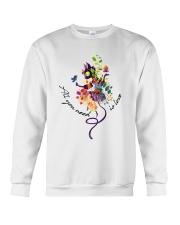 All You Need Is Love CA0023 Crewneck Sweatshirt thumbnail