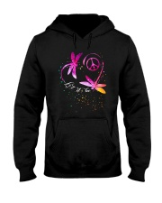 Let It Be D0493 Hooded Sweatshirt front