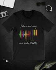 Take A Sad Song D01169 Classic T-Shirt lifestyle-mens-crewneck-front-16