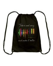 Take A Sad Song D01169 Drawstring Bag thumbnail