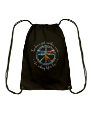 Freedom's Just Another Word D0709 Drawstring Bag thumbnail