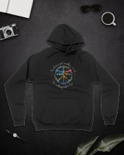 Freedom's Just Another Word D0709 Hooded Sweatshirt lifestyle-unisex-hoodie-front-9