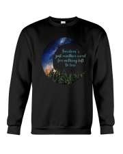 Freedom's Just Another Word D0352 Crewneck Sweatshirt thumbnail