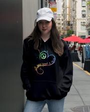 All You Need Is Love Hooded Sweatshirt lifestyle-unisex-hoodie-front-5