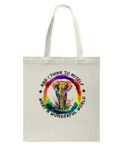 And I Think To Myself D01052 Tote Bag thumbnail