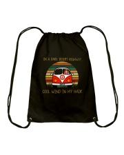 Cool Wind In My Hair Drawstring Bag thumbnail