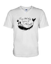 Every Little Thing D01343 V-Neck T-Shirt thumbnail