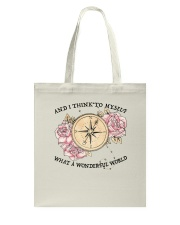 What A Wonderful World Tote Bag tile