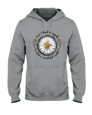 And I Think To Myself D01322 Hooded Sweatshirt front