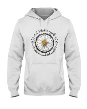 And I Think To Myself D01322 Hooded Sweatshirt tile