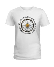 And I Think To Myself D01322 Ladies T-Shirt thumbnail